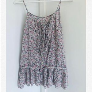 Brand new floral tank- Size S